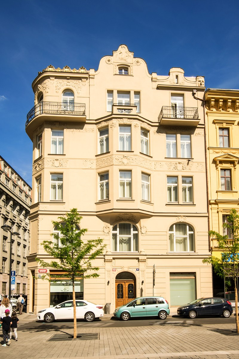 Historical hotel in prague center hotel golden crown prague for Hotels in prague centre